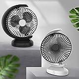 duhe189014 Mini USB Desktop Fan Low Noise Wireless Rechargeable 3 File Mobile Fan Office Dormitory Portable Powerful Air Circulator