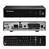 STRONG SRT 7510 HD Satelliten Receiver DVB-S2 ORF simpliTV SAT Full HD (HDTV, HDMI, SCART, USB, Ethernet, Koaxial) schwarz