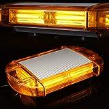 126 Luce LED stroboscopica lampeggiante di emergenza da Costruzione Costruzione Tetto Mini Bar Luce di Avvertimento con base magnetica