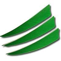 Milaem Plumas de Flecha plumas de 4 pulgadas nature Plumas para Flechas de puntería (paquete de 50)