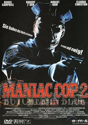 Bild von Maniac Cop 2 - Butcher in blue (uncut) by Bruce Campbell
