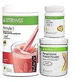 #9: Herbalife formula 1(Strawberry) with Personalized Protein Powder(200gm)+Afresh(Lemon)