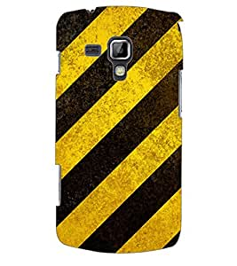 ColourCraft Colour Pattern Back Case Cover for SAMSUNG GALAXY S DUOS S7562