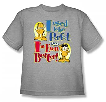 Garfield - - T Even Better Youth-shirt En Heather, X-Large (18-20), Heather