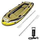 - Senza marca/Generico - Gommone Fishman per pesca mare lago fiume 305x136cm gonfiabile canotto 07209-01