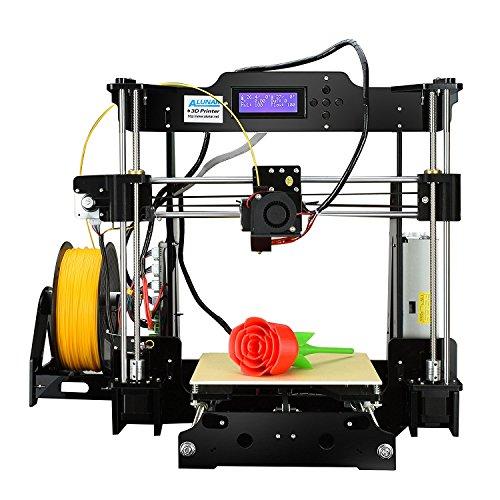 Version Mejorada–alunar DIY 3d acrílico alta precisión impreso