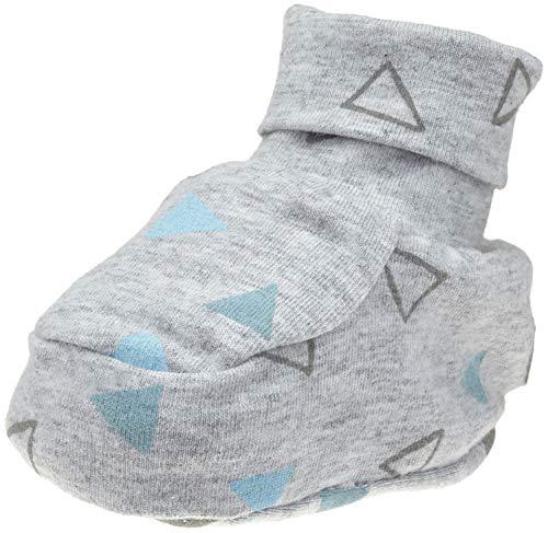 Döll Baby - Unisex Babyschuhe zum Wenden Jersey Socken, per pack Blau (ballad blue 3004), One Size (Herstellergröße: 0, 5)