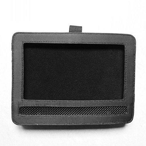 TiooDre Car Headrest Mount, Car DVD Headrest Mount Holder Strap Case for Swivel Flip Style Portable DVD Player (10 inch) (Dvd-player In Portable 10)