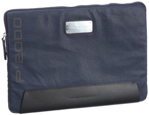 Porsche Design Pure 09/62/99771, Borsa da viaggio uomo, 33 x 23 x 2 cm (L x A x P), Blu (Blau (dark blue 230)), 33 x 23 x 2 cm (L x A x P) Blu (Blau (dark blue 230))