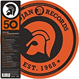 TROJAN RECORDS Trojan 50th Anniversary Picture Disc (2018 UK limited edition 12-track Picture Disc compilation LP released to celebrating the legendary record labels 50th Anniversary including classic tracks from Desmond Dekker & TheAces The Pion...