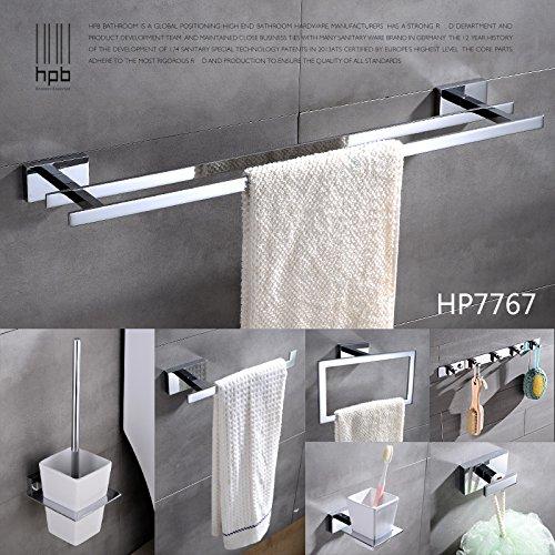 Preisvergleich Produktbild YFF@ILU Alle Kupfer massiv Handtuchhalter Handtuchhalter bad Handtuchhalter mit zwei einzelnen Hebel,  HP 7767