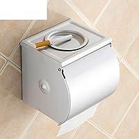 MOMO Porta papel higiénico / Espacio Aluminio WC papel higiénico / Cenicero papel higiénico