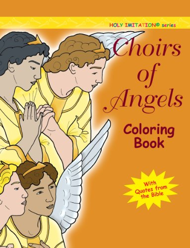 Choir of Angels Coloring Book (Holy Imitation)