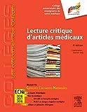 Lecture Critique Articles Médicaux 4ED - Réussir les ECNi