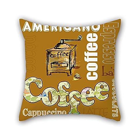 Pillo Taie d'oreiller de café, le meilleur pour SES proches, Banc, Home Cinéma, Sol, adolescents, garçons 40,6x 40,6cm/40par 40cm (deux côtés)