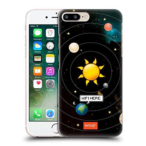 Ufficiale Emoji Casa Spazio Cover Retro Rigida per Apple iPhone X Wifi