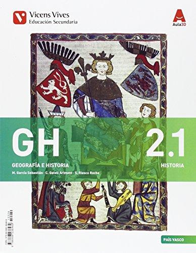 GH 2 PAIS VASCO (GEO/HIST) + SEP GEO AULA 3D: 000002 - 9788468236469