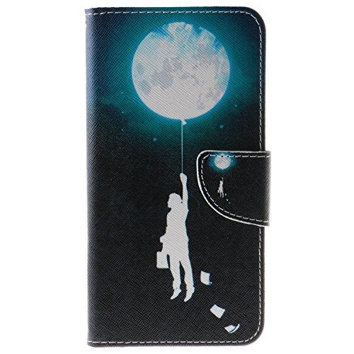 Coque iPhone 7(4,7 pouces) PU cuir flip Wallet Etui Case Cover Housse A8