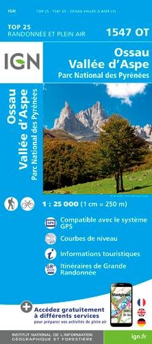 1547OT OSSAU - VALLEE D'ASPE PARC NAT.PYRENEES