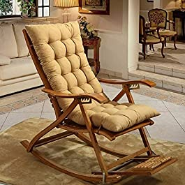 Coussin rocking chair rotin