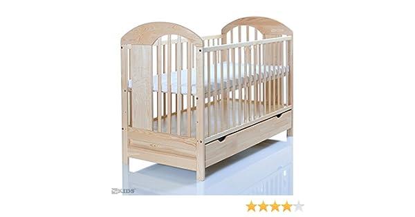 Kinderbett 120x60 cm massiv; 3 fach höhenverstellbar; 3