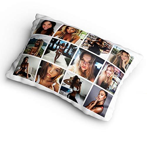Personliased Gifts Market Funda de Almohada con Foto Personalizada