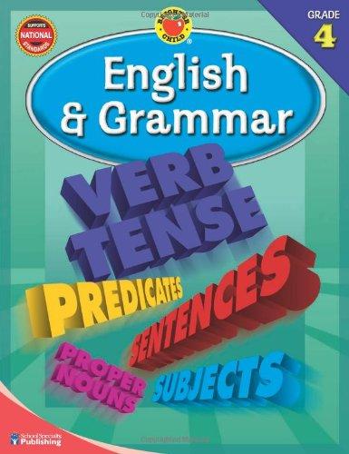 Brighter Child� English and Grammar, Grade 4 (Brighter Child Workbooks)