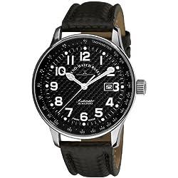 Zeno-Watch Herrenuhr - X-Large Pilot Carbon Automatic - P554-s1