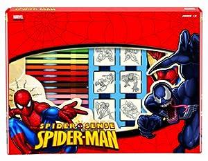 Multiprint Spiderman - Juego de Sellos de Goma (7 Unidades)