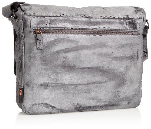 JostMontana Messenger Bag Large 1002 - Gancio Porta Borsa Portatile Unisex adulti nero