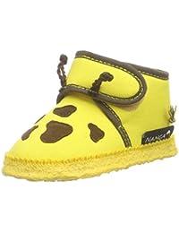 Nanga Giraffe Unisex Baby Krabbelschuhe