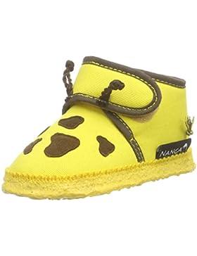 Nanga Giraffe Unisex Baby Krabbel- & Hausschuhe