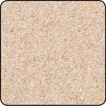 Season Farbsand, Dekosand farbig ca 0,5 mm. 1 KG in Creme