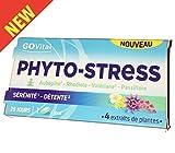 GoVital–Phyto-stress 4estratti di piante–Biancospino, rodiola, valeriana e passiflora–Scatola da 28compresse