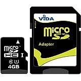 Nouvelle Vida IT 4Go Carte mémoire Micro SDHC pour Nokia - Asha 205 - Asha 300 - Asha 302 - Asha 303 Téléphone mobile - Tablette PC - Garantie à vie