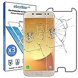 ebestStar -Compatible [Lote de 3] Cristal Templado Samsung J7 2017 Galaxy SM-J730F Protector de Pantalla, Película Vidrio Protectora Ultrafina, Dureza 9H, Sin-Burbujas [Aparato:152.4x74.7x7.9mm 5.5']
