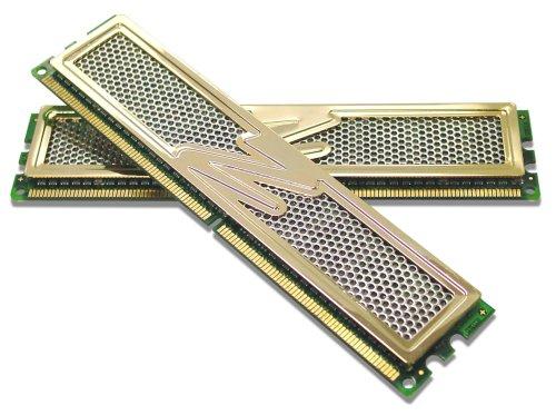 OCZ PC2-8500 Gold Edition Arbeitspeicher 4 GB DDR2-RAM Kit (1066 MHz, CL5, 2 x 2 GB) -