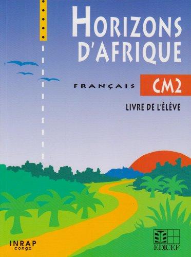 Horizons d'Afrique CM2 (Congo)