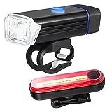 Best Traseros Luces de bicicleta - AMIR USB recargable bicicleta de luz de Juego Review
