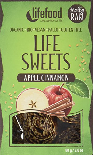 lifefood  Life Sweets Apfel Zimt, 4er Pack (4 x 80 g)