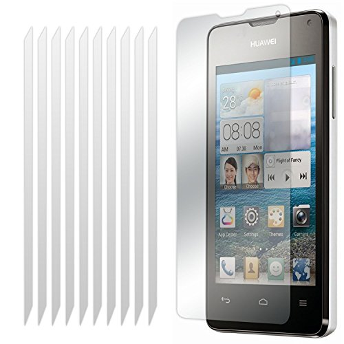 Huawei Ascend Y530 10 Stück LCD Screen Protector Guards Mit Poliertuch von Fone-Case - Handy Lcd Screen Protector