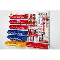 Mercagas MT25475 - Kit organizador taller pared