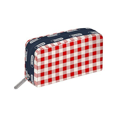 lesportsac-rectangular-cosmetic-case-gingham-classic-red-by-lesportsac