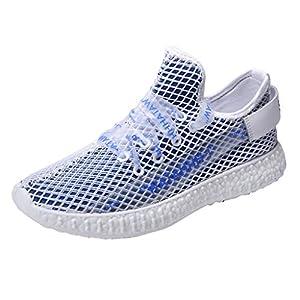 EUZeo Unisex Sportschuhe Herren Damen Laufschuhe Sneakers Turnschuhe Fitness Mesh Air Leichte Schuhe Fliegen stricken Fitnessschuhe Straßenlaufschuhe Sommerschuhe