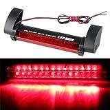 SODIAL(R)Lampe Ampoule Feux Frein Stop 3eme 14 LED Lumiere Rouge 12V pour Voiture