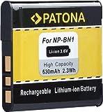 Bundlestar Patona Qualitätsakku für Sony NP-BN1 - Inkl. Transportbox