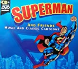 Superman and Friends Classic Cartoons and Music CD & DVD
