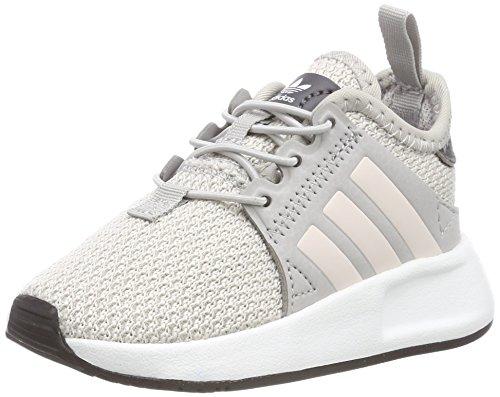 adidas Unisex Baby X_PLR EL Sneaker, Grau (Grey Two/Orchid Tint/Footwear White), 23 EU (Baby-schuh-box)
