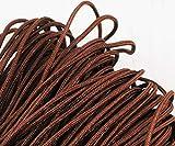 9.2 m 30ft 10yrd Mocca Braun Nylon Schnur Macrame Thread-Perlen-String Geflochtenes Seil Kumihimo Knot, Armband Shamballa Schnur 2mm .079in