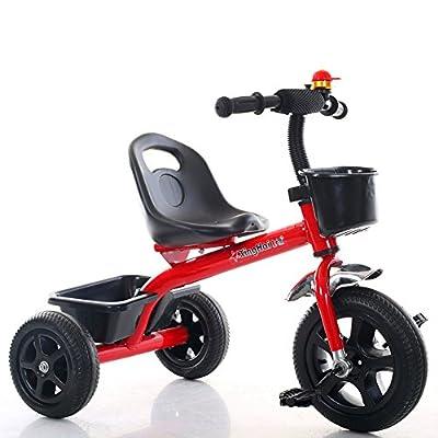 Strollers NAUY @ Triciclo Ligero para niños 1-3-6 años Carruaje de bebé Niños y niñas Bicicletas Cochecito de bebé Sillas de Paseo